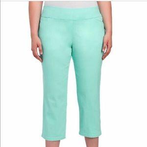 Attyre. CAroline 22W crop pants